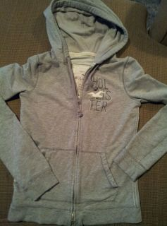 Hollister s Small Zipper Hoodie Jacket Girls Womens