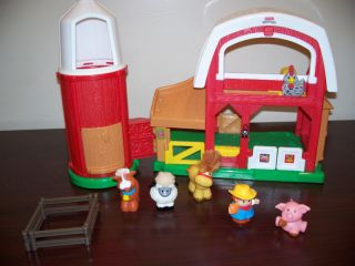 Fisher Price Little People Animal Sounds Barn Farm 7925