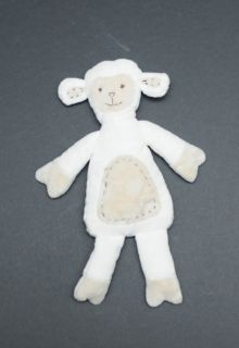 Pottery Barn Kids Plush Chamois Lamb Lambie White Tan