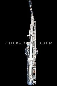 BRAND NEW PHIL BARONE SILVER PLATED VINTAGE TENOR SAXOPHONE!