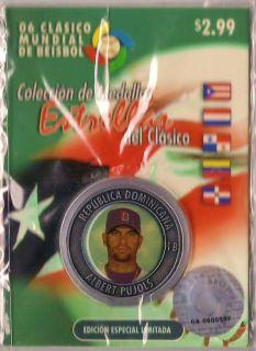 Albert Pujols Baseball World Classic Puerto Rico 2006