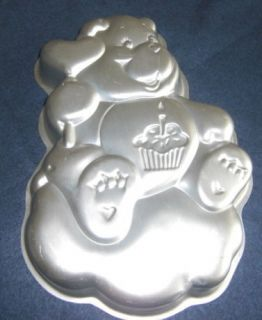 Care Bears Bear Cupcake 1983 Wilton Cake Pan Very Nice