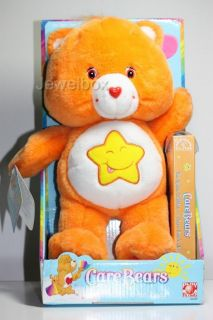 Care Bears RARE Plush 12 Laugh A Lot 2003 VHS New in Box Excellent