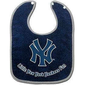 New York Yankees Baby Bib Team Logo MLB Baseball