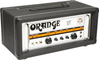 Orange Amplifiers AD Series AD200B 200W Tube Bass Amp Head Black
