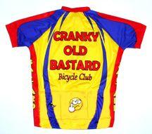Cranky Old Bastard Cycling Jersey XXL Mens Bicycle Bike