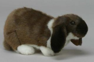 German Lop Eared Rabbit Hansa Heirloom Quality New Plush Stuffed
