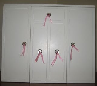 Battat 18 Doll Wardrobe Armoire Fits American Girl