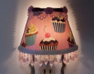 New Sweet Tooth Yummy Icing Cupcakes Pink Night Light