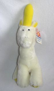 Bananimal Banacorn Plush Unicorn Banana Horn Plush Stuffed Toy