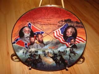 Battles of The American Civil War Chancellorsvill Plate
