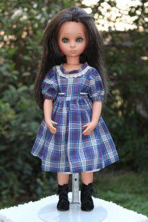 Vintage 1960s Furga Alta Moda Susanna 17 Brunette Doll Italy