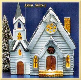 Parish Church New Department Dept 56 Snow Village D56 SV