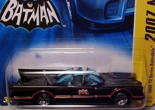 TV Series Batmobile Die Cast Toy Car George Barris 1 64 NIP
