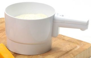 orpro battery operated flour sifter 5 cup