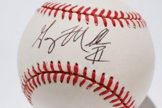 Seven San Francisco Giants autographed baseballs;