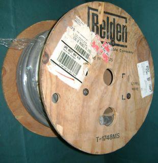 for a new 100 belden 9737 reel of snake cable