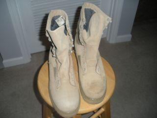 Military Desert Combat Boots sz 6 5 Reg Bates