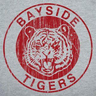 Bayside Tigers T Shirt Tee Vintage 80s Retro TV Women