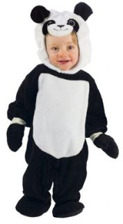 Playful Panda Bear Infant Kids Halloween Costume