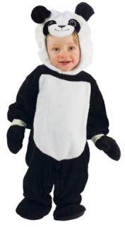 Playful Panda Bear Infant Kids Halloween Costume
