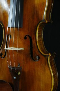 Great Italian Violin labeled Gustavo Belli c 2000 4 4 old antique