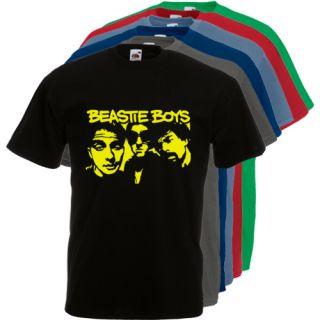 T301 Beastie Boys Y Old School Hip Hop Music Cool 6 Colors T Shirt s