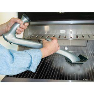 Grill Daddy Clean Cleaning Scrap Steam Brush Barbecue BBQ Grill Grate