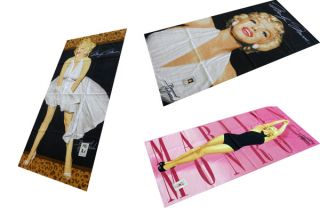 Marilyn Monroe Beach Towel Summer Collection 100 Cotton 3 Styles Brand