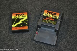 Tyco R C 6 0V Jet Turbo NiCd Battery Pack with Charger