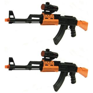 Battery Operated Toy Guns Electric Machine Kids Boy