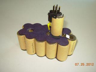 DW9096 18 Volt 2 2 Amp Hour NiCd Pod Style Battery Rebuild Kit