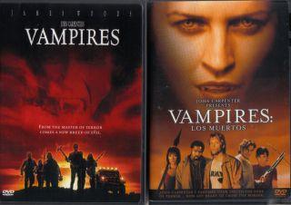 VAMPIRES & DRACULA Complete John Carpenter & Wes Craven Series NEW 5