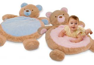 Teddy Bear Baby Infant Plush Stuffed Animal Sleep Nap Play Mat Playmat