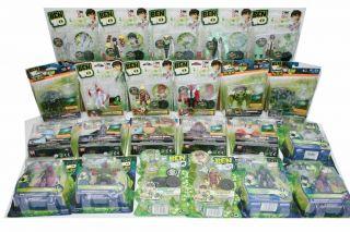 Ben 10 Action Figure Toys Lots of Choices Ultimate Alien Alien Force