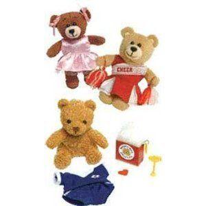 Build A Bear Workshop Cheerleader Kit Make Your Own Stuff Clip New