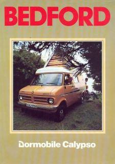 Bedford CF Dormobile Calypso camper Van Sales Brochure