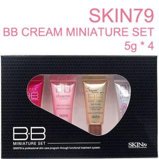 SKIN79 Mini BB Cream Set Diamond Pink Gold Pearl 5g 4