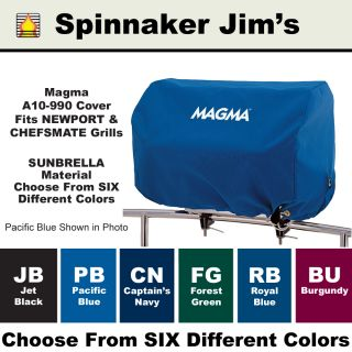 New Magma A10 990 Adventurer BBQ Grill Cover 6 Sunbrella Colors RV