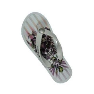 ed hardy bc 100 womens thong sandal shoes all sizes