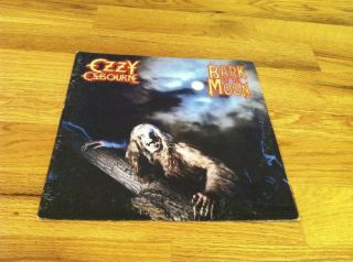 OZZY OSBOURNE LP Bark At The Moon CBS metal hard rock VG+/VG++ AWESOME