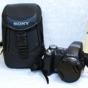 sony cybershot dsc h5 digital camera with case