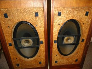 RARE Vintage EMI Benjamin Speakers Model s 1050