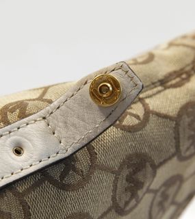 Authentic Michael Kors Bedford Medium Monogram Satchel Hand Bag