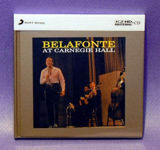 HARRY BELAFONTE Belafonte At Carnegie Hall Limited Edition K2 HD Japan