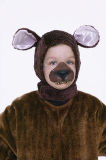 bear hood nose animal costume set child standard