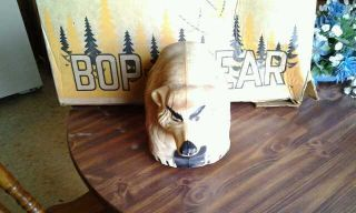 Vintage Marx Bop A Bear  Bear Hunting Game Bear and Box