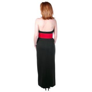 Vintage 1970s Dress Geoffrey Beene Black Silk Halter Gown Scarf Size S