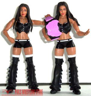 WWE The Bella Twins Nikki & Brie Mattel Action Figures with Divas