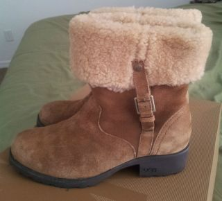 UGG Boots Brown Suede size 9 Bellvue II ***EXCELLENT MINT BEAUTIFUL